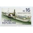 0919 - Historické dopravní prostředky: kolesový parník Praha