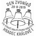 Razítko: Den zvoníků Hradecka